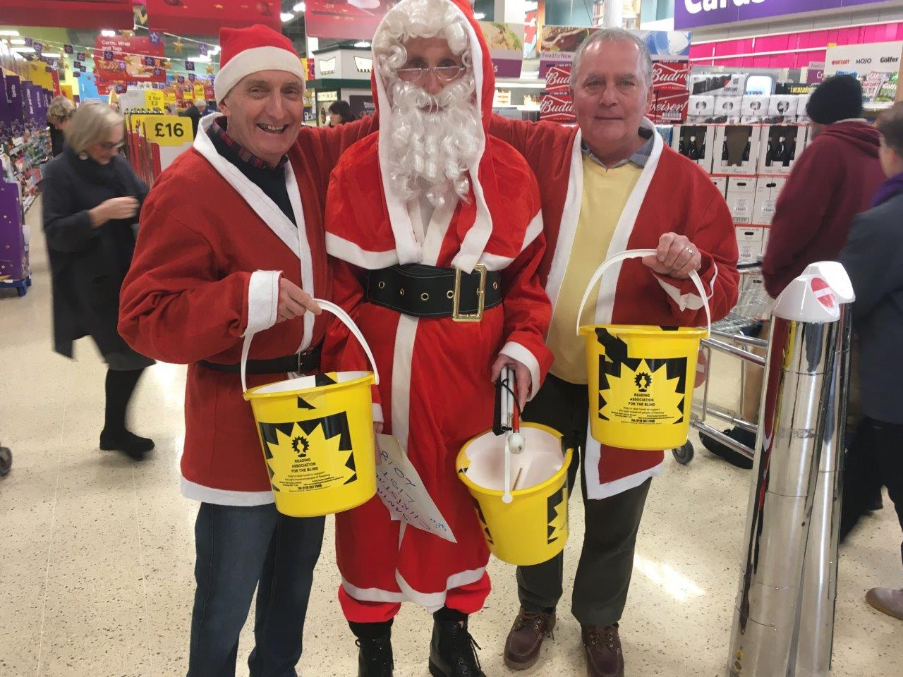Steve, Richard and Chris at Tesco Collection on 21 December 2018