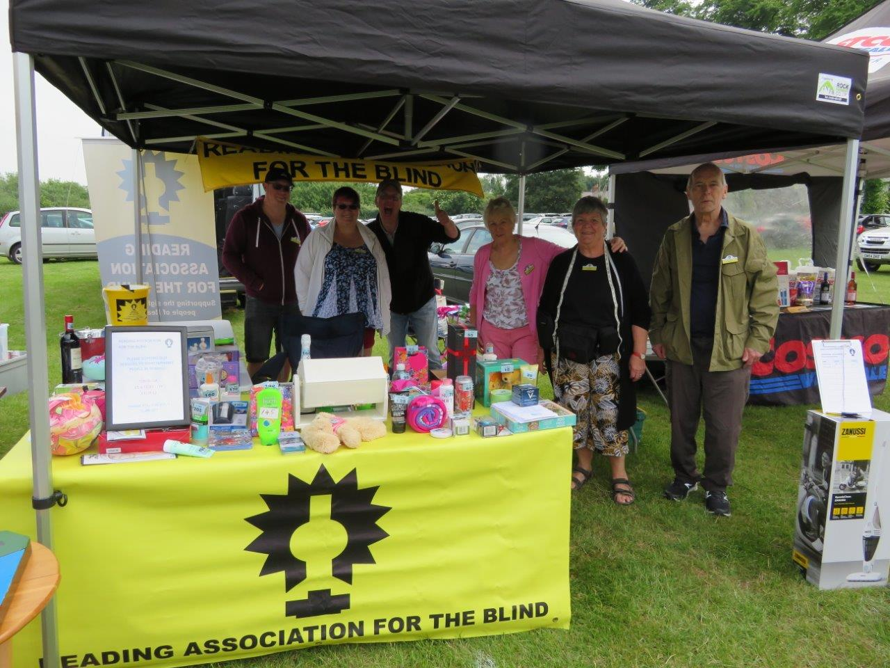 Photo of RAB's stall at the RBH fete